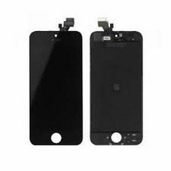 Vitre tactile noir avec écran lcd pour iPhone 5