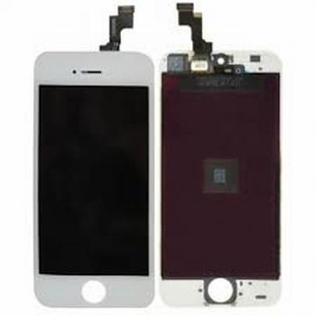 Vitre tactile blanc avec écran lcd pour iPhone 5