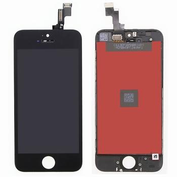Vitre tactile noir avec écran lcd  pour iPhone 5S / SE