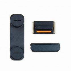 Bouton noir Volume+Vibreur+Power pour iPhone 5