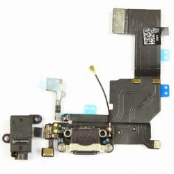 Nappe Connecteur de Charge noir +Jack+ Micro pour iPhone 5c