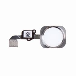 Nappe avec bouton home couleur Blanc/Argent