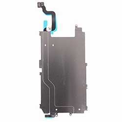 Plaque métal pour LCD avec nappe bouton home pour iPhone 6+