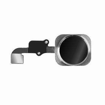 Nappe avec bouton home couleur noir pour iPhone 6S et 6S+