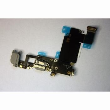 Dock de charge gris + prise jack et micro pour iphone 6S+