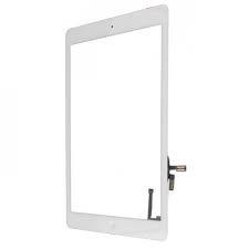 Vitre tactile blanc avec le bouton home pour ipad Air