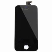 Vitre tactile noire + écran lcd pour iPhone 4