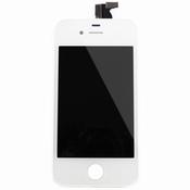 Vitre tactile blanche + écran lcd pour iPhone 4