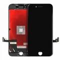 Vitre tactile noir avec écran LCD pour iPhone 8 Plus